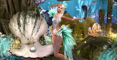 MAGICAL (Ali Reignn) Tags: maitreya belleza slink physic hourglass irrisistible shop sl second life secondlife dragon sea fish mermaid outfit clothes sexy bathsuit summer fantasy headpiece applier skirt mesh body design fashion hairs scales creature women costume roleplay