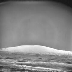 Mount Sharp, variant (sjrankin) Tags: 8july2019 edited nasa mars msl curiosity galecrater dust sand rocks grayscale mountsharp mountains nrb615714294edrf0761666ncam00556m