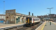 153306. Abellio Greater Anglia Class 153 set, Lowestoft, 7th. July 2019. (Crewcastrian) Tags: 153306 lowestoft trains transport abellio greateranglia diesel railways class153