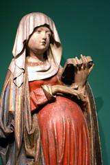 Liebieghaus, Maria in der Hoffnung (Pregnant Virgin Mary) (HEN-Magonza) Tags: liebieghaus frankfurt hessen hesse deutschland germany frankfurtammain skulptur sculpture mariainderhoffnung pregnantvirginmary