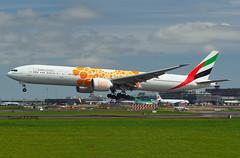 Boeing 777-31HER A6-ENR Emirates (EI-DTG) Tags: dublinairport dub eidw 07jul2019 b777 triple7 emirates a6her logojet
