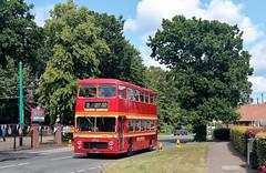 OCK 985K, Eastern Counties Bristol VR, Carlton Colville, 7th. July 2019. (Crewcastrian) Tags: buses transport lowestoft carltoncolville eastangliantransportmuseum easterncounties bristol vr ecw ock985k vr385