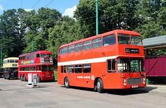 VEX 294X, Eastern Counties Bristol VR294, East Anglian Transport Museum, Carlton Colville, 7th. July 2019. (Crewcastrian) Tags: lowestoft carltoncolville buses transport eastangliantransportmuseum easterncounties bristoll vr ecw vex294x vr294