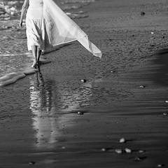 at the ocean's hem (l'imagerie poétique) Tags: ishootfilm mediumformatfilm bronicasqa zenzanon150mmf35 ilforddelta400 summer beach ocean