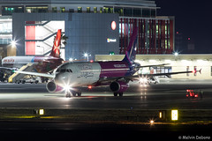 Wizz Air Airbus A320-232  |  HA-LWC  |  LMML (Melvin Debono) Tags: wizz air airbus a320232 | halwc lmml 4323 melvin debono spotting spotters spotter canon eos 5d mark iv 100400mm night shot shots nights plane planes photography airport airplane aircraft aviation malta mla