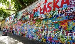 John Lennon wall in Prague (vlastapivonka) Tags: