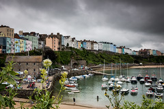 Harbour Colours (Through_Urizen) Tags: boatship category flora harbourbeach pembrokeshire places tenby tenbyharbour transport wales canon1585mm canon70d canon outdoor travelphotography landscapephotography beach sea coast coastal seashore town houses colourful harbour boats water sand seaside flowers uk unitedkingdom greatbritain