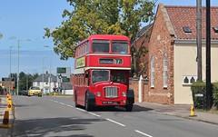 557 BNG, Eastern Counties Bristol FL6B LFL57, Carlton Colville, 7th. July 2019. (Crewcastrian) Tags: lowestoft carltoncolville buses transport eastangliantransportmuseum easterncountiesomnibuscompany bristol lodekka fl6b ecw 557bng lfl57