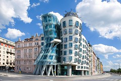 Dancing House Prague (vlastapivonka) Tags: