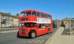 GNG 125C, Eastern Counties Bristol FS5G LFS125, Lowestoft Railway Station, 7th. July 2019. (Crewcastrian) Tags: lowestoft transport buses easterncounties eastangliantransportmuseum ipswichtransportmuseum bristol lodekka fs5g ecw preservation gng125c lfs125