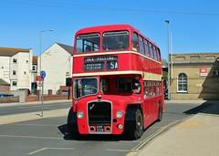 OVF 229, Eastern Counties Bristol LD5G LKD229, Lowestoft, 7th. July 2019. (Crewcastrian) Tags: lowestoft buses transport easternangliantransportmuseum easterncountiesomnibuscompany bristol lodekka ld5g ecw preservation ovf229 lkd229