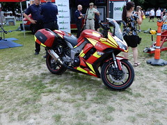 2012 Kawazaki ZX1000 HCF Kent Fire & Rescue (andrewgooch66) Tags: classic vintage veteran heritage preserved motorcyle motorcycles prewar ww2 postwar specials racers police emergency