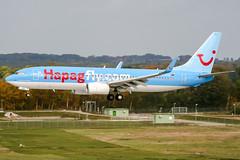 D-ATUD (PlanePixNase) Tags: aircraft airport planespotting haj eddv hannover langenhagen boeing 737800 737 b738 tui tuifly hapaglloyd hapagfly
