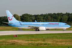 D-AHLR (PlanePixNase) Tags: aircraft airport planespotting haj eddv hannover langenhagen boeing 737800 737 b738 tui tuifly hapaglloyd hapagfly