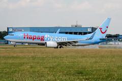 D-AHFJ (PlanePixNase) Tags: aircraft airport planespotting haj eddv hannover langenhagen boeing 737800 737 b738 tui tuifly hapaglloyd hapagfly