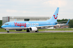 D-ATUE (PlanePixNase) Tags: aircraft airport planespotting haj eddv hannover langenhagen boeing 737800 737 b738 tui tuifly hapaglloyd hapagfly