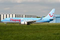 D-AHFZ (PlanePixNase) Tags: aircraft airport planespotting haj eddv hannover langenhagen boeing 737800 737 b738 tui tuifly hapaglloyd hapagfly