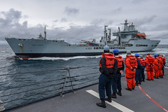 190706-N-JX484-174 (CNE CNA C6F) Tags: alliedmaritimecommand marcom nato snmg1 standingnatomaritimegroupone strongertogether ussgravely
