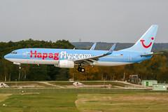 D-AHFT (PlanePixNase) Tags: aircraft airport planespotting haj eddv hannover langenhagen boeing 737800 737 b738 tui tuifly hapaglloyd hapagfly