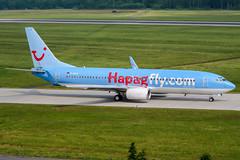 D-AHLP (PlanePixNase) Tags: aircraft airport planespotting haj eddv hannover langenhagen boeing 737800 737 b738 tui tuifly hapaglloyd hapagfly