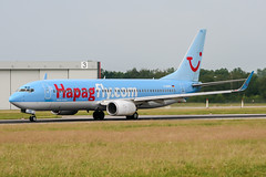 D-AHFB (PlanePixNase) Tags: aircraft airport planespotting haj eddv hannover langenhagen boeing 737800 737 b738 tui tuifly hapaglloyd hapagfly
