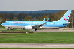D-AHFX (PlanePixNase) Tags: aircraft airport planespotting haj eddv hannover langenhagen boeing 737800 737 b738 tui tuifly hapaglloyd hapagfly