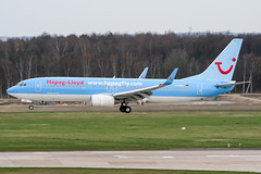 D-AHFL (PlanePixNase) Tags: aircraft airport planespotting haj eddv hannover langenhagen boeing 737800 737 b738 tui tuifly hapaglloyd hapagfly