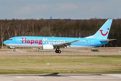 D-ATUA (PlanePixNase) Tags: airport aircraft hannover boeing 737 haj planespotting 737800 langenhagen b738 eddv tui hapaglloyd hapagfly tuifly