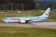 D-AHFE (PlanePixNase) Tags: aircraft airport planespotting haj eddv hannover langenhagen boeing 737800 737 b738 tui tuifly hapaglloyd hapagfly