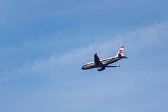 1970s Skies (sbisson) Tags: retrojet britishairways bea ba britisheuropeanairways airbus a319 london heathrow livery ba100 sky summer putney