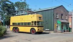 ALJ 986, Bournemouth Sunbeam MS2 Trolleybus, East Anglian Transport Museum, Carlton Colville, 7th. July 2019. (Crewcastrian) Tags: lowestoft carltoncolville transport trolleybus bournemouth preservation sunbeam ms2 parkroyal alj986 202