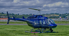 Helicopter rides on G-VVBO Newtownards Airport at their open day (Photographs and Images of Northern Ireland) Tags: gvvbo ards airport open day heli power aeroplanes rides trips helicopter newtownards helipower display show scrabo tower cessna kitefox gyro copter