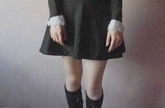 your little girl (sa66ra.cadabra) Tags: mervirgin girl legs thighs knee kneesocks grain grainisgood detail hands vintage retro young lady mademoiselle youth pink delicate soft skin roksanakias adolescence bodylanguage innocence virgin nymphette lolita