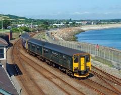 150234 & 150219 Penzance (Marky7890) Tags: gwr 150246 150219 class150 sprinter 2c47 penzance railway cornwall cornishmainline train