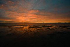 The Next Day (Explored) (OzGFK) Tags: wilsonsprom wilsonspromontory nature outdoors sunrise ocean sea beach nikon d800 yanakie burningsky orangesky brilliantsky colouredsky