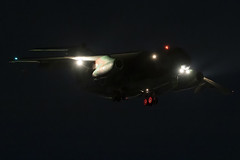 C-1 (niokee) Tags: japanairselfdefenseforce jasdf kawasaki c1 402ndtacticalairliftsquadron irumaairbase rjtj nightflighttraining 081030