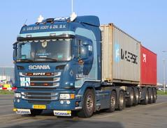 Scania G450HL Van der Kooy, Rotterdam (rommelbouwer) Tags: scania g450 vanderkooij