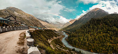 Chitkul, Himachal Pradesh (adithyakrishnakumar) Tags: spiti india incredibleindia spitivalley panorama chitkul himachalpradesh canon eos 1200d colors rainbow mountains river nature life