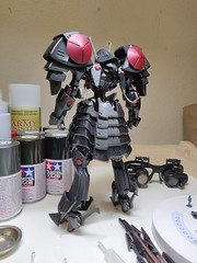 IMG_20190708_062155 (KayOne73) Tags: oneplus 6 mobile photography black knight fss five star stories volks ims plastic injection molded kit robot mecha mortar headd plamo batsh vatsu