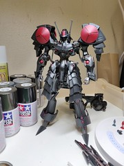 IMG_20190708_062121 (KayOne73) Tags: oneplus 6 mobile photography black knight fss five star stories volks ims plastic injection molded kit robot mecha mortar headd plamo batsh vatsu