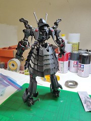 IMG_20190708_052420 (KayOne73) Tags: oneplus 6 mobile photography black knight fss five star stories volks ims plastic injection molded kit robot mecha mortar headd plamo batsh vatsu