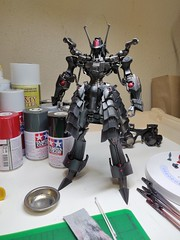 IMG_20190708_052358 (KayOne73) Tags: oneplus 6 mobile photography black knight fss five star stories volks ims plastic injection molded kit robot mecha mortar headd plamo batsh vatsu