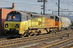 70812 6S26 (Rob390029) Tags: colas rail class 70 70812 newcastle central railway station ncl