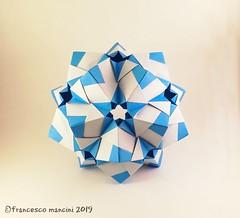 Mugen (mancinerie) Tags: origami paperfolding papiroflexia papierfalten kusudama geometry polyhedra francescomancini mancinerie modularorigami star