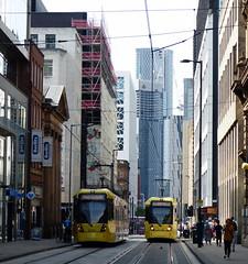 Uk - Manchester trams (onewayticket) Tags: tram transport urban street city metrolink bombardier m5000 bombardierm5000