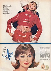 Pond's Angel Face 1964 (barbiescanner) Tags: jeanshrimpton ponds vintageadvertising 60sadvertising 1960sadvertising vintage retro fashion vintagefashion 60s 60sfashions 1960s 1960sfashions 1964 mademoiselle