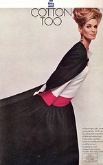 National Cotton Council 1964 (barbiescanner) Tags: nationalcottoncouncil vintageadvertising 60sadvertising 1960sadvertising vintage retro fashion vintagefashion 60s 60sfashions 1960s 1960sfashions 1964 mademoiselle deborahdixon