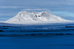 The sun shines on the volcano (urban requiem) Tags: volcan volcano ice iceland island islande hekla neige snow white blanc glace sun shiny