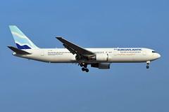 CS-TKR Boeing 767-36NER at CYYZ (yyzgvi) Tags: cstkr boeing 76736ner euroatlantic airways transportes aereos cyyz yyz toronto pearson mississauga ontario