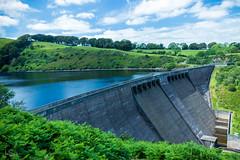 Meldon Reservoir (ivanstevensphotography) Tags: devon dam oakhampton reservoir water fern foliage clouds trees concrete structure engineering